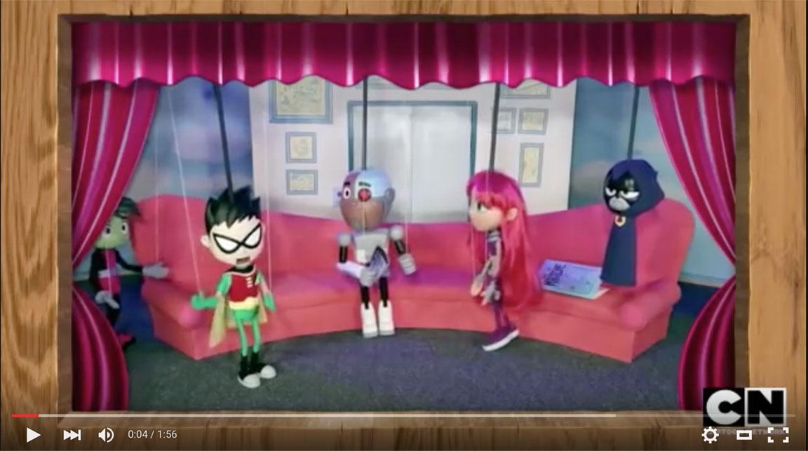 teen titans go puppets hot girls wallpaper